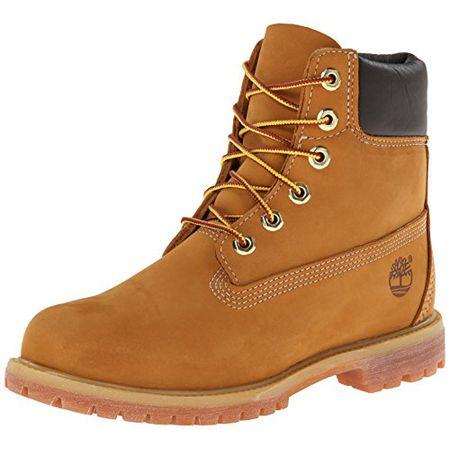577bea8434 Timberland 10361 6 in Premium FTB, Damen Stiefel, Gelb (Wheat Nubuck),
