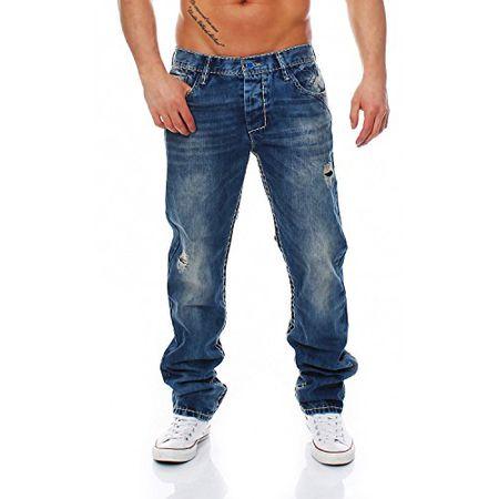 CIPO & BAXX C 1125 Regular Fit dicke Naht Men Herren Jeans Hose, Hosengröße:W31L32