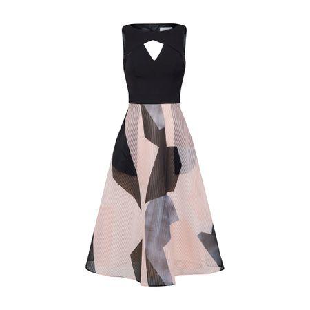 94da804e2db Coast Kleid  Aria Ava  mischfarben   schwarz
