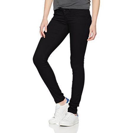 18662db2427b ONLY Damen Hose Onllucia SL Skinny Push UP Pant Pnt Noos, Schwarz (Black  Black