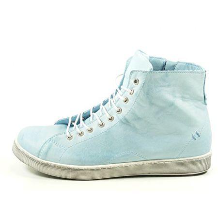 Andrea Conti 0341500 Schuhe Damen Halbschuhe Sneaker High Top, Schuhgröße:42;Farbe:Blau