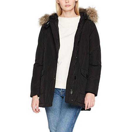the best attitude c752a 34214 Woolrich Damen Jacke W's Arctic Parka Df, Schwarz (Black), X-Small