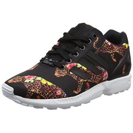 buy popular 63e65 ab2b4 adidas Damen ZX Flux Sneakers, Mehrfarbig (Core Black Core Black FTWR White