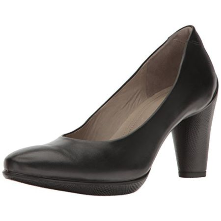 ECCO Damen Shape 75 Round ELEGANT Pumps, Schwarz Black, 38