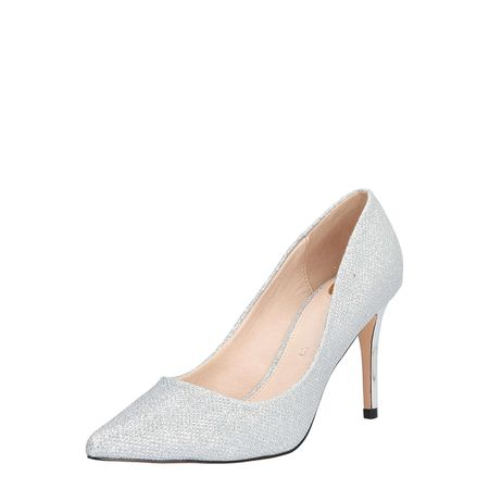 Buffalo London 110 5427 KID SUEDE 115778, Damen Pumps, Grau