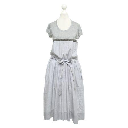 d89d52e91c8 Wunderkind Kleid mit Streifenmuster