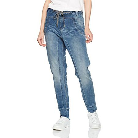 Cream Damen Jeanshose, Blau (Medium Blue Denim 62696), 42 (XL)