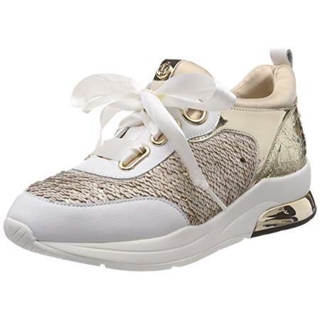 b9e3fb95b7a2 Liu Jo Shoes Damen Running Cara Sneaker, Pink (Nude 51315), 40 EU
