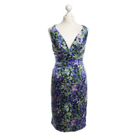 bcb9d5ad7699 Roberto Cavalli Kleid mit buntem Muster