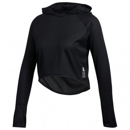 7b98ba58c270 adidas - Women's Adapt Hoodie Gr L;M;S;XL;XS schwarz;grau/weiß