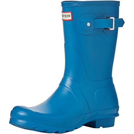 Hunter Damen Wellington Boots Gummistiefel, Blau (BlueRob), 4041 EU