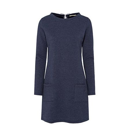 armedangels Damen Sweatkleid aus Bio Baumwoll Mix Momo S navy melange