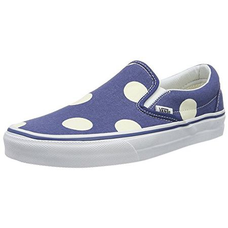 Vans Damen Classic Slip on, Blau, 38.5 EU