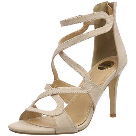 Buffalo Shoes Damen 315349 Bhwmd IMI Suede Riemchensandalen