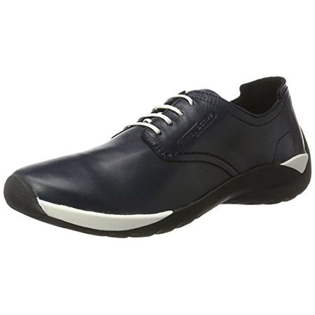 camel active Damen Moonlight 72 Derby, Blau (Midnight 02), 41 EU