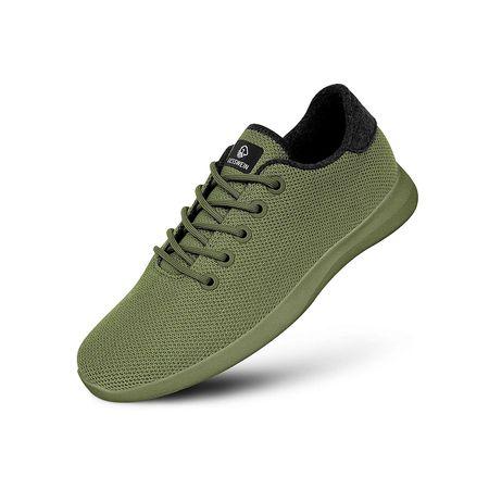 Giesswein Merino Wool Knit Men Sneakers Low khaki Herren
