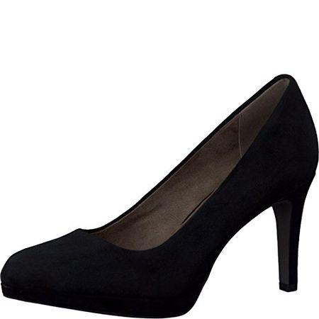 Neu Schuhe Damen Pumps TAMARIS Damen Hochfront Pumps Schwarz