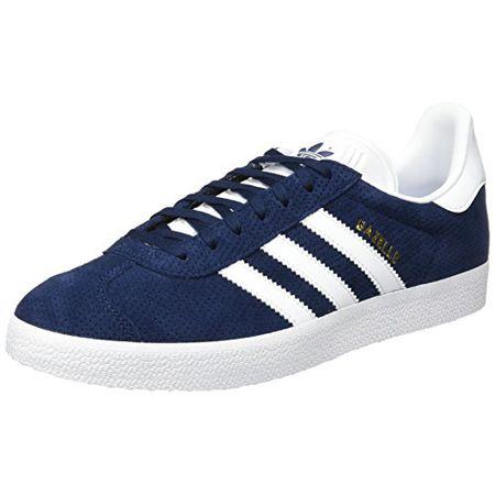 adidas Damen Gazelle Sneakers, Blau (Collegiate NavyFootwear WhiteGold Metallic), 39 13 EU