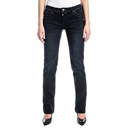 Timezone Damen Straight Jeans Tahilatz, Blau (Noble Blue Wash 3787), W31L32 (Herstellergröße: 3132)