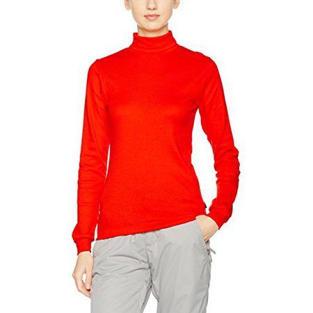 Trigema Damen Slim Fit Rollkragenpullover 502010, Einfarbig