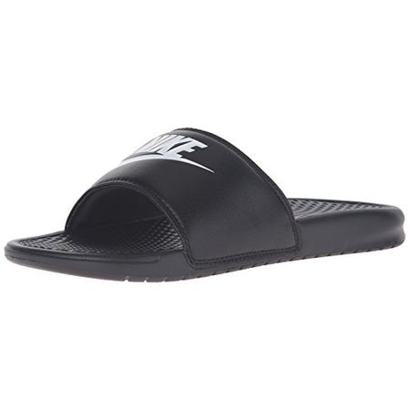 sports shoes f1aed 39ea6 Nike Benassi Just Do It Schuhe Herren Badelatschen Slipper Schwarz 343880  090, Größenauswahl 45