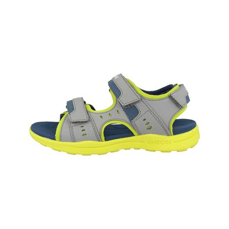GEOX Schuhe J S.Pianeta B Klassische Sandalen grau Junge