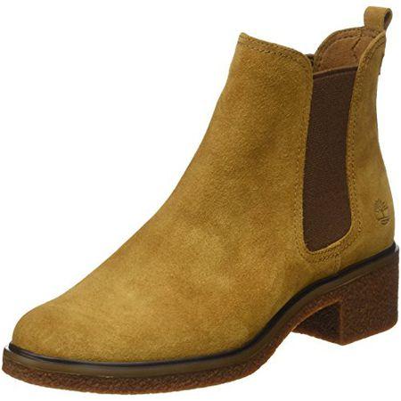 7963f82f13ac16 Timberland Damen Brinda Double Gore Chelsea Pull-on Chukka Boots