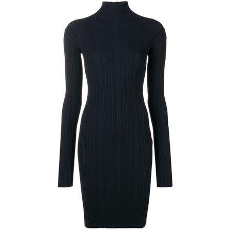 Lanvin Kleid mit langen Ärmeln - Blau 80c8ea759c