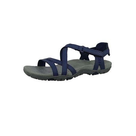 Aleutian Sandspur Sandale Blau Sandalen J346115c Merrell Rose Leather Blue Klassische Damen Crown CrdoxBe