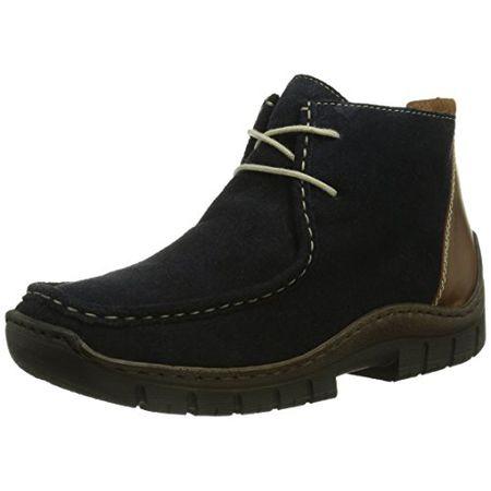 Rieker L2340-15, Damen Kurzschaft Mokassin Boots, Blau (marina mogano   880f2ed713