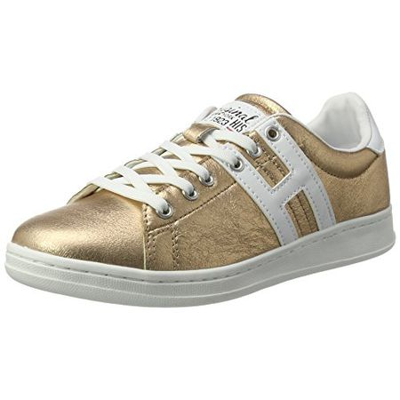 H.I.S Damen 16MCB007 Hohe Sneaker, Schwarz (BlackGun Metal), 39 EU
