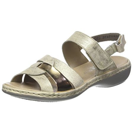 Details about Ladies Rieker Slingback Sandals '659L5'