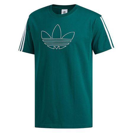 adidas Originals adidas T Shirt Floating Trefoil T Shirts grün Herren