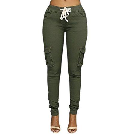 Minetom Frauen Damen Boyfriend Jeans Hose Mittlere Taillen mit Destroyed Effekten
