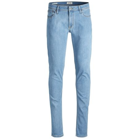f5b58e8836f68e JACK   JONES Liam Original Am 724 Skinny Fit Jeans Herren Blau