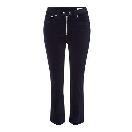 7470944151 Rag & Bone/JEAN Skinny Jeans Dojo aus Samt