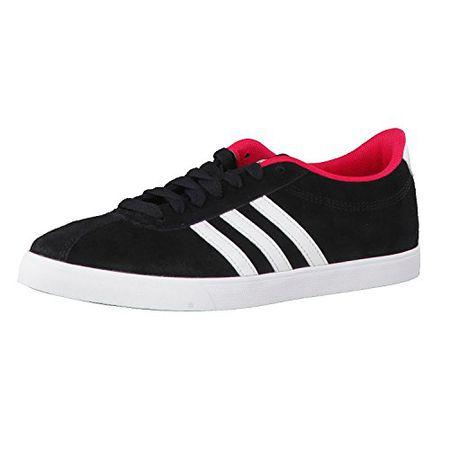 adidas NEO Damen Sneaker Courtset W Core BlackFTW WhiteEnergy Pink 40 23
