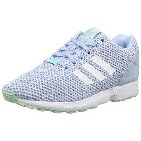adidas Damen ZX Racer Sneakers, Weiß (Off WhiteFTWR WhiteCollegiate Royal), 38 23 EU