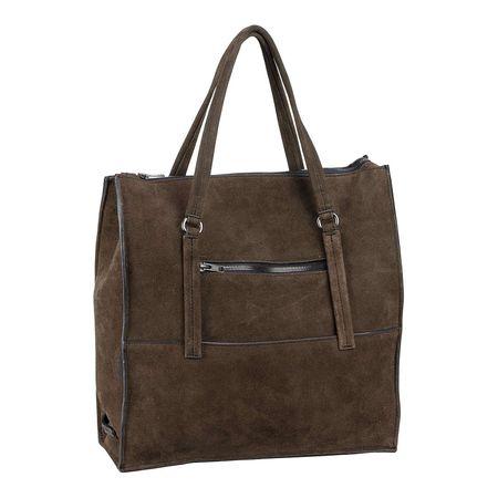 best authentic 9c99e 03fb9 Marc O'Polo Handtasche Fortythree Luxury Suede Handtaschen braun Damen
