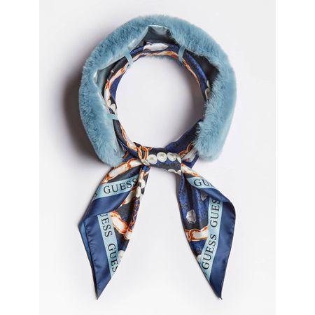 GUESS Schal blau