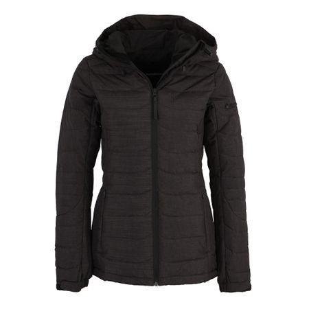 timeless design 674a4 eb2f4 PEAK PERFORMANCE Jacke 'W BLACK J' schwarzmeliert