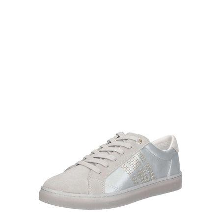 c26a0615688767 TOMMY HILFIGER Sneaker low SPARKLE SATIN ESSENTIAL Sneakers Low hellgrau  Damen