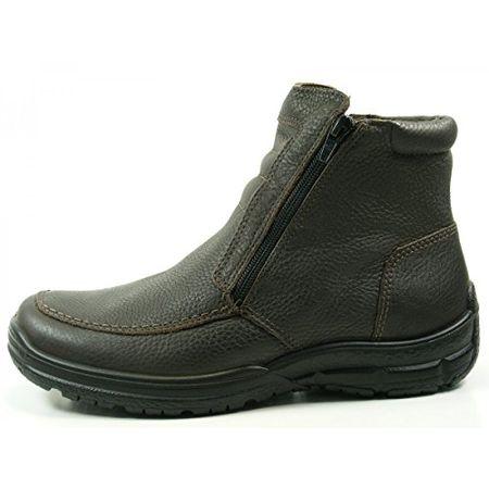 Jomos 416501 33 Authentic II Herren Stiefel Stiefeletten Lammfell , Schuhgröße:43;Farbe:Braun