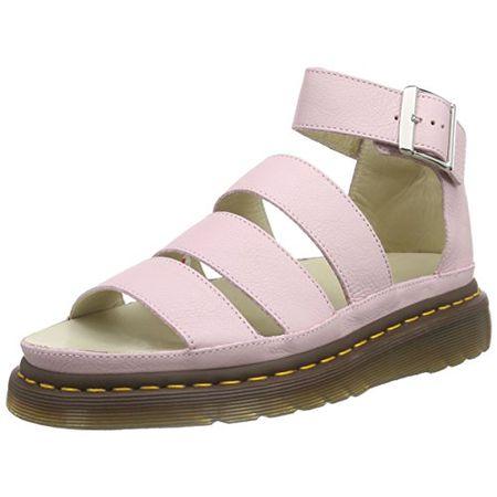 Dr. Martens Clarissa Virginia Bubblegum, Damen Geschlossene Sandalen, Pink (Bubblegum), 39 EU (6 Damen UK)
