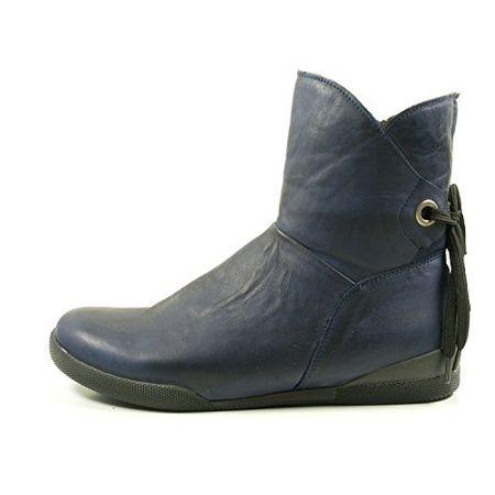 Andrea Conti 0342753 Schuhe Damen Boots Stiefel Stiefeletten, Schuhgröße:39, Farbe:Blau