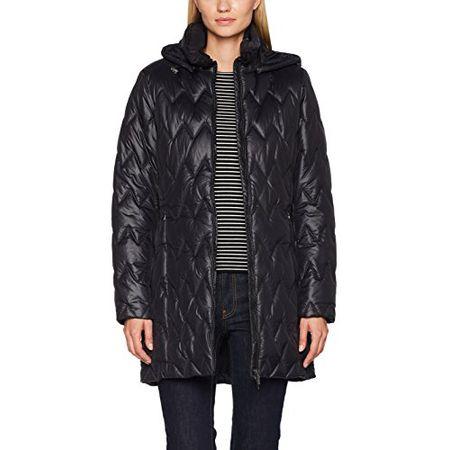 Geox Damen Woman Jacket Parka mit Abnehmbarer Kapuze Jacke