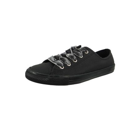 3a7410462f2f2 ... denmark converse chucks 561692c schwarz chuck taylor all star dainty ox  leder black black gold sneakers