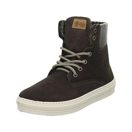 Natural World Damen Hi Sneaker  Stiefeletten Größe 40 Braun (Braun) 7c0a37934a
