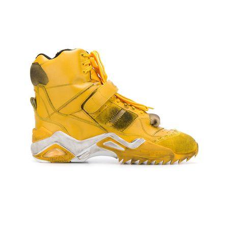 Retro Gelb Margiela Sneakers Im Maison Look WEH92ID