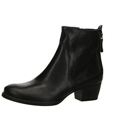 Paul Green Damen Stiefeletten schwarz Glattleder 8094 041   eBay